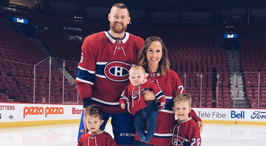 Canadiens Jeff Petry Wife Julie Give Back To Montreal Medical Community Sportsnet Ca