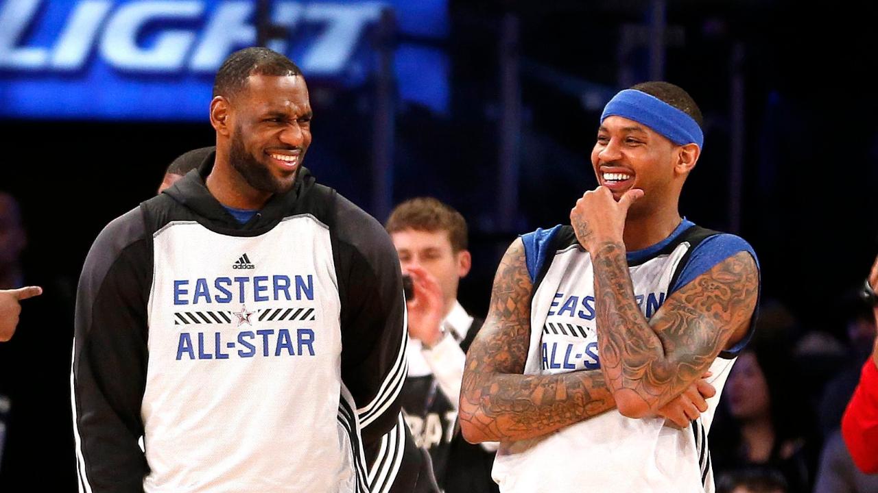 Informe: Carmelo Anthony se unirá a los Lakers con un contrato de un año