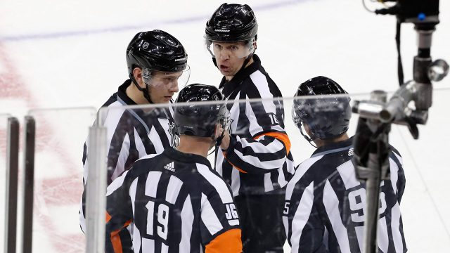 nhl-officials-reviewing-a-challenged-goal