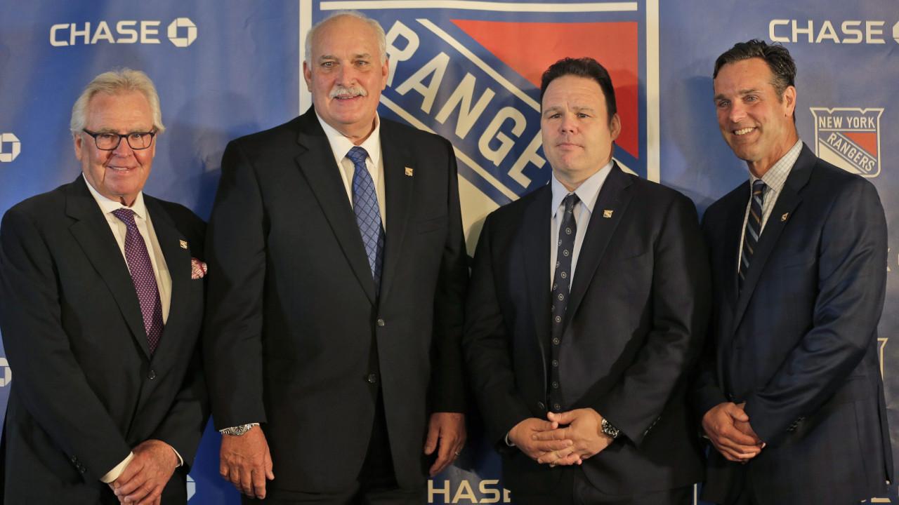 Rangers extend contracts for GM Jeff Gorton, assistant GM Chris Drury
