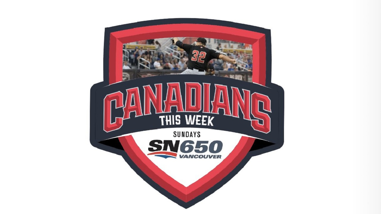 Canadians Baseball This Week Logo Image
