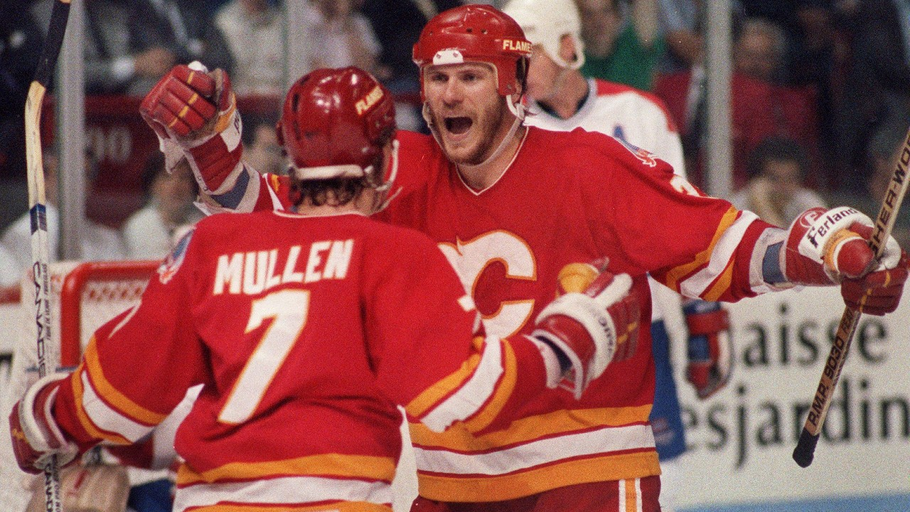 Flames Were All In For 1989 Stanley Cup Final Rematch With Canadiens Sportsnet Ca