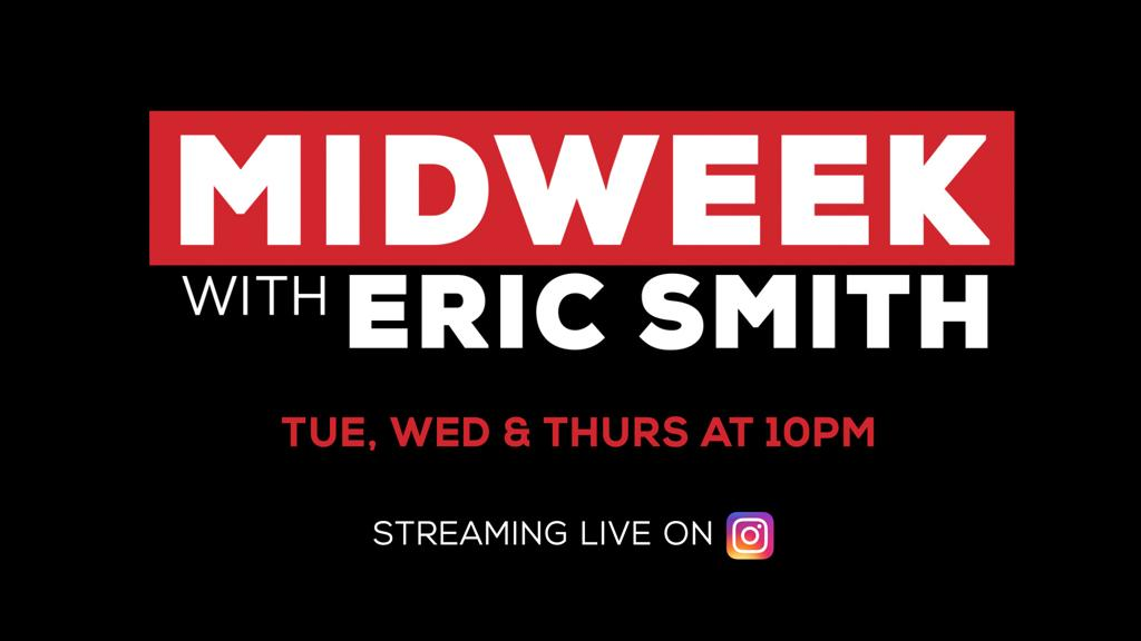 MIDWEEK with Eric Smith Logo Image