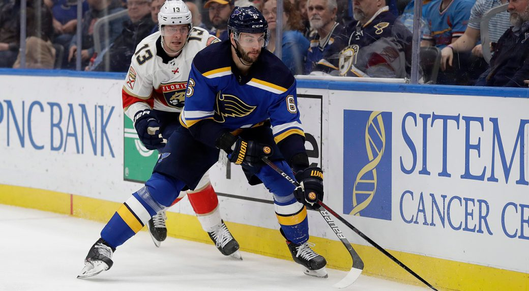 Scandella agrees to four-year contract with Blues