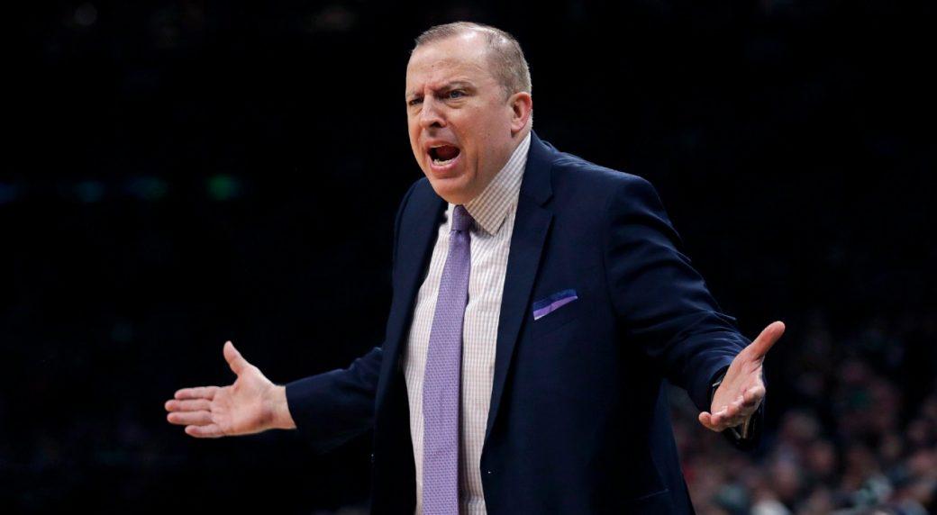 Knicks Targeting Thibodeau As Head Coach
