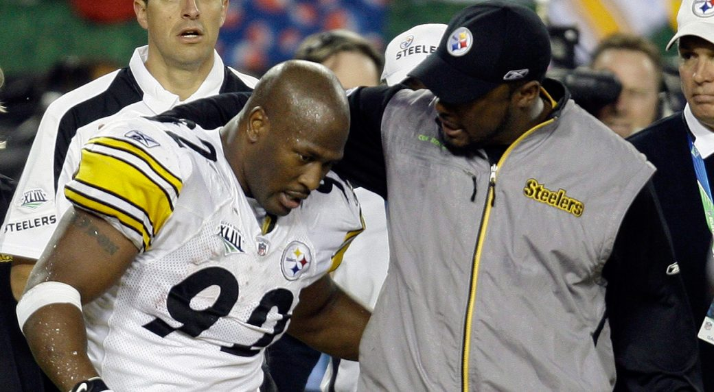 James Harrison claims Mike Tomlin gave him an envelope after big hit