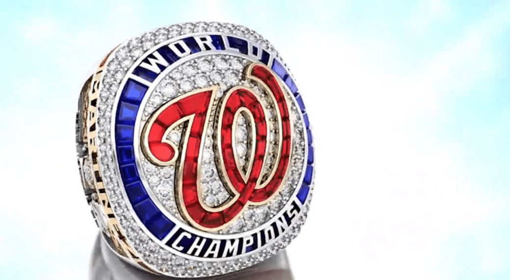 Nationals reveal 2019 World Series championship ring