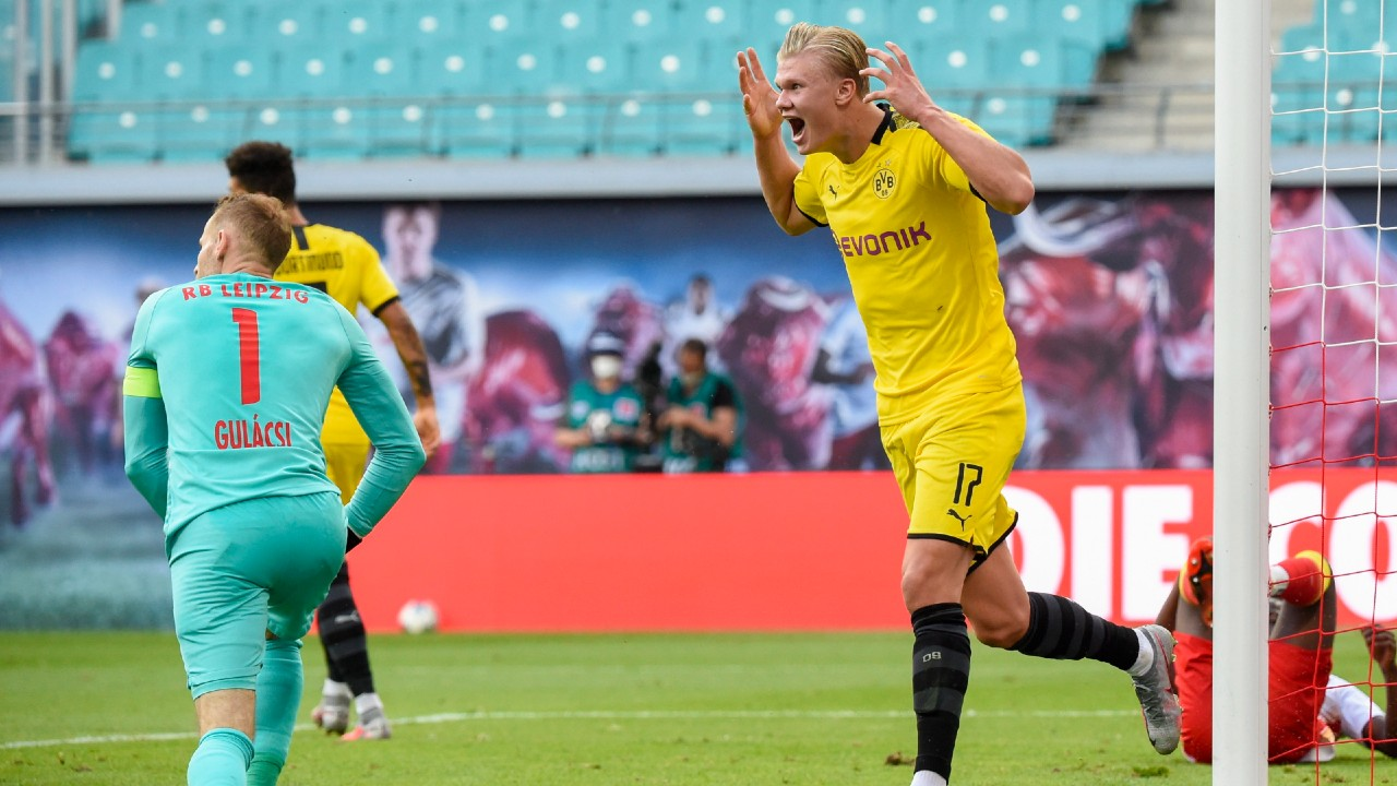 Erling Haaland Goals Secure Bundesliga Runner Up Spot For Dortmund Sportsnet Ca