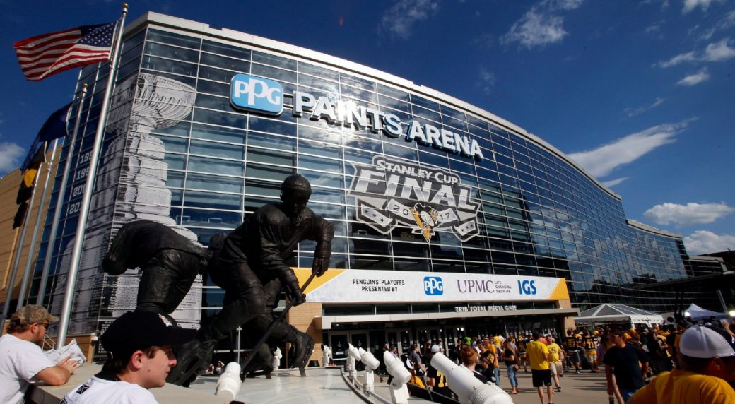 Penguins informed that Pittsburgh will not be hub city