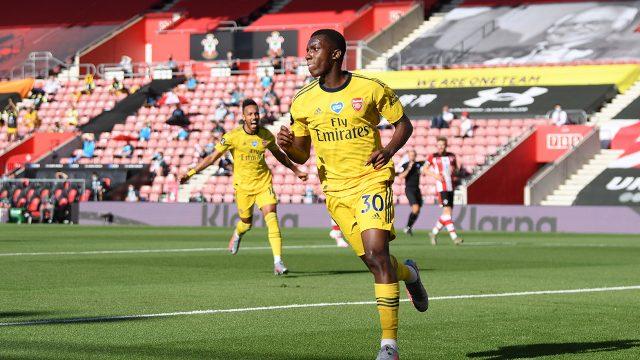 arsenal-eddie-nketiah-celebrates-goal