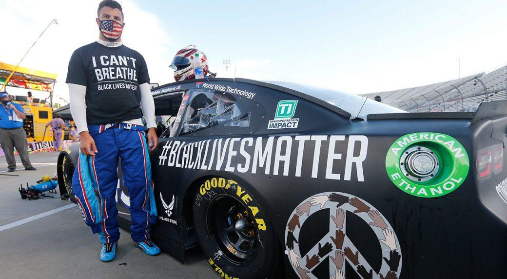 NASCAR drivers split with helmet designer over social media posts