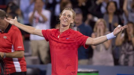 denis-shapovalov-celebrates-rogers-cup