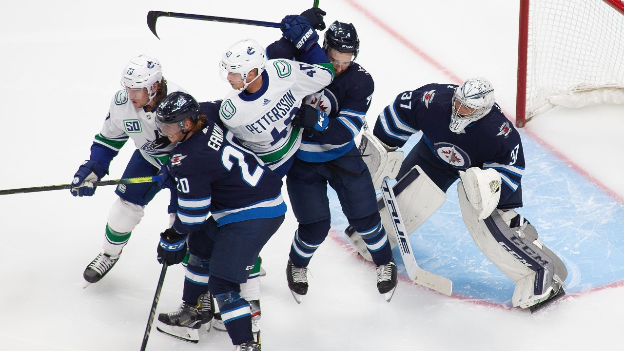 Jets make it 11 straight over the Canucks with a win in NHL exhibition play