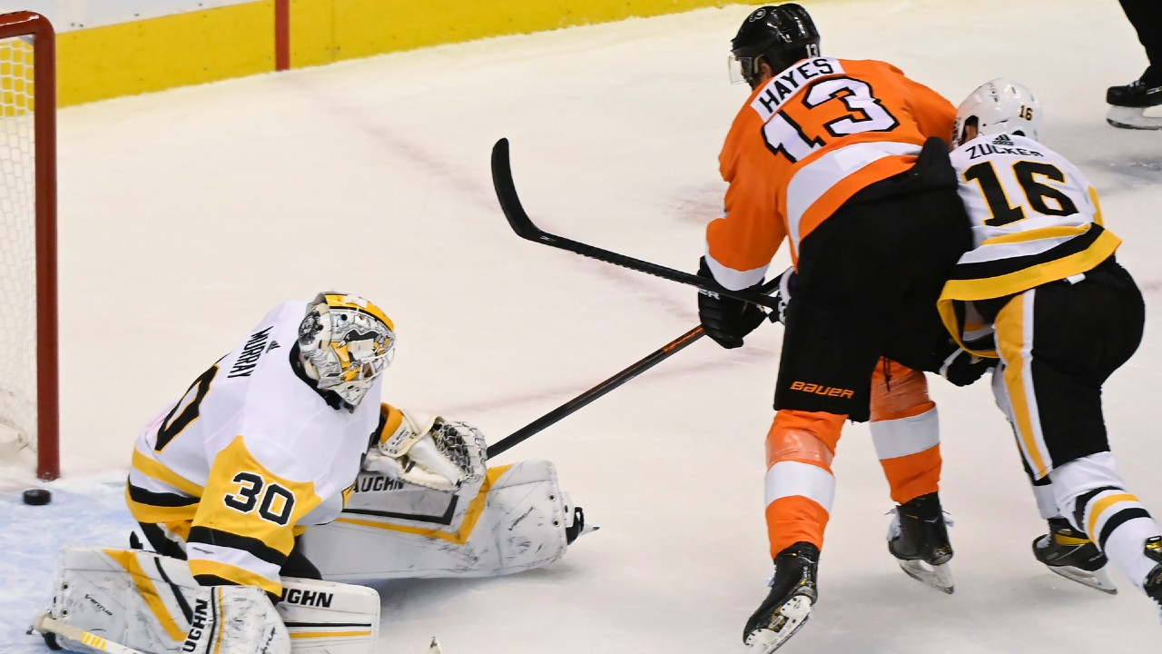 Flyers knock off Penguins in OT in NHL's first exhibition action