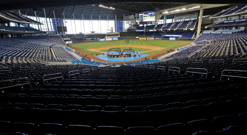 Marlins cancel home opener as team's COVID-19 outbreak hits 13 cases