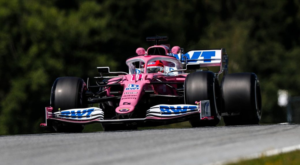 Perez Fastest in 1st Practice for F1 Styrian GP in Austria