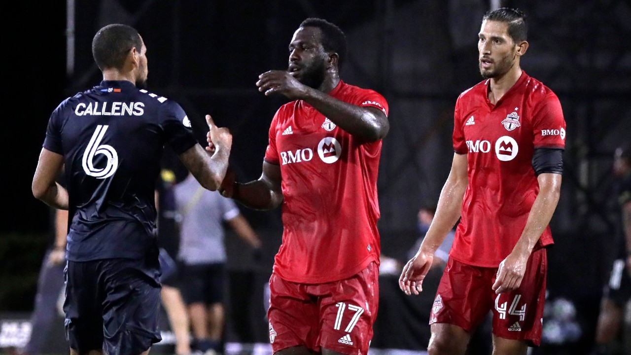 Toronto FC loses to New York City FC, exits MLS is Back Tournament - Sportsnet.ca