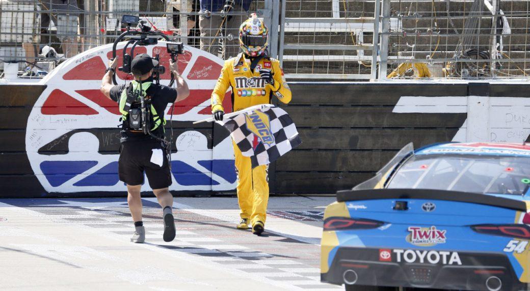 Kyle Busch wins NASCAR trucks race after earlier Xfinity DQ