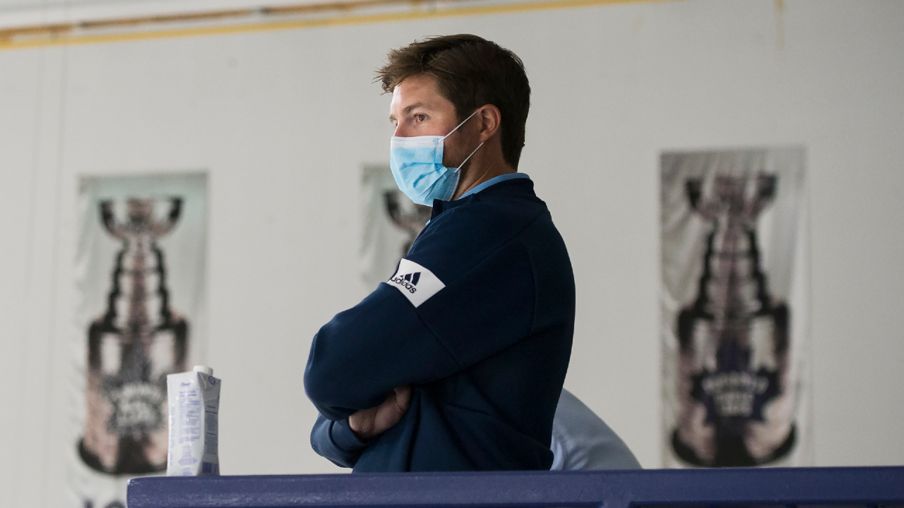 In Maple Leafs' talks with Oilers about Hyman, Dubas isn't bending the knee