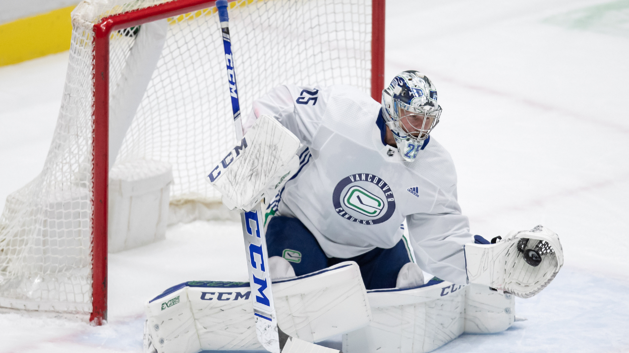 Canucks Markstrom Physically Ready But Mindful Of Mental Challenges Ahead Sportsnet Ca