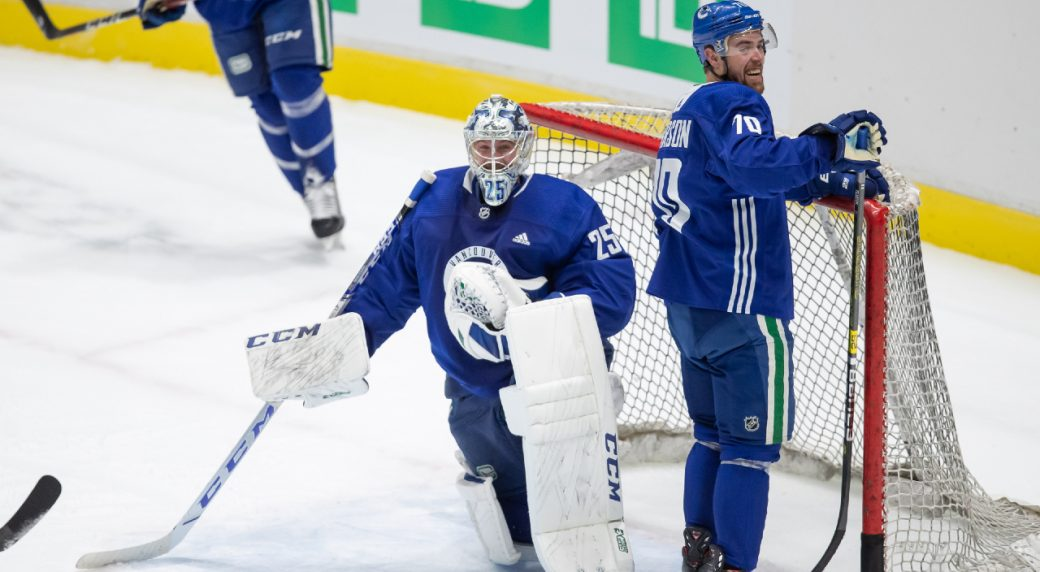 Canucks Markstrom Has Eyes Fixed On Long Awaited Stanley Cup Playoffs Debut Sportsnet Ca