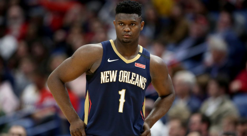 Zion Williamson's quarantine period will be determined by the National Basketball Association