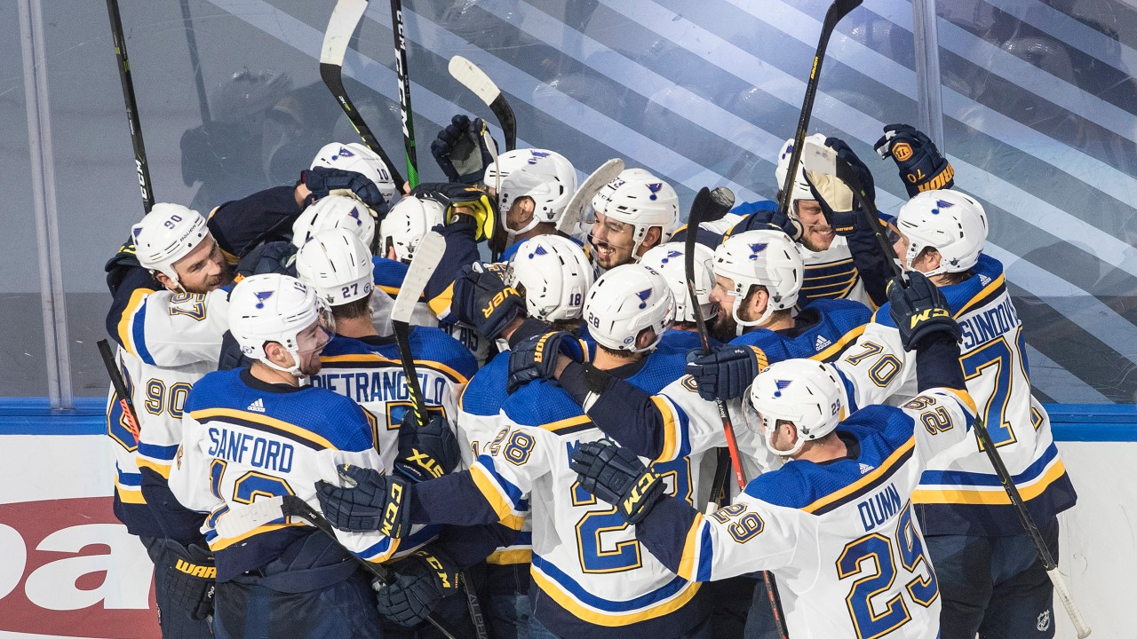 Blues make the most of their chances and avoid a possible 3-0 series deficit with OT win