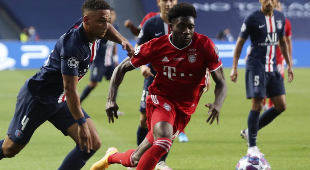 Alphonso Davies to make Bayern return against Lokomotiv