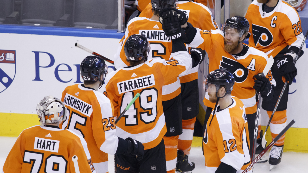 The Isles' mounted a solid comeback, but the Flyers tie the series with an O.T. winner