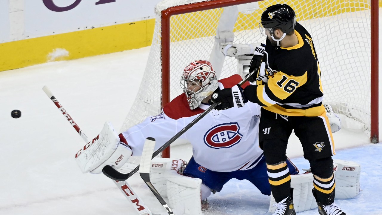 Pens' re-group and beat the Canadiens to tie the series at 1-1