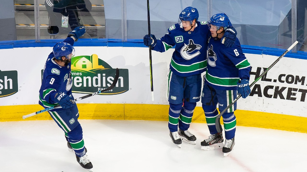 Canucks even the score against the Wild as the series heats up