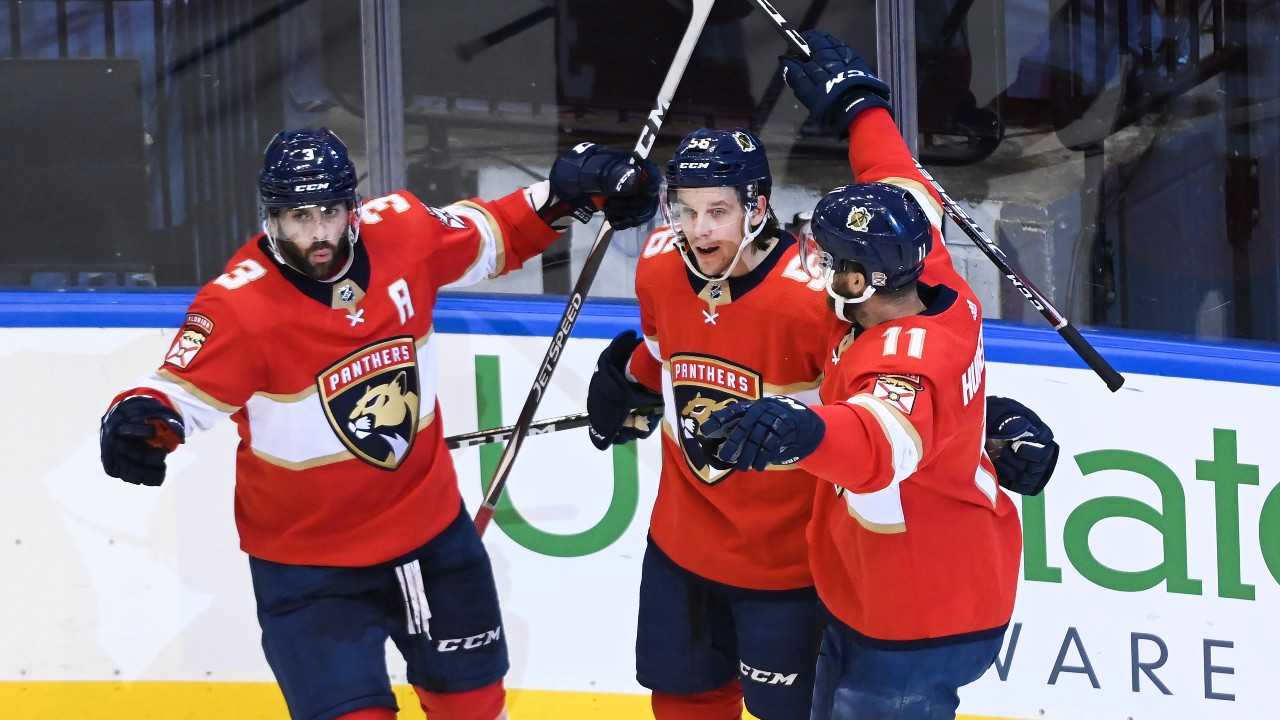 Panthers stay alive with a big win over the Isles