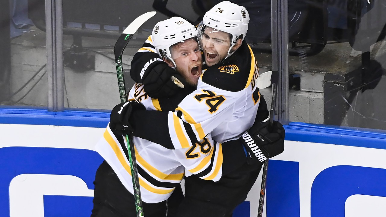 Boston stages huge third period comeback to take a commanding series lead
