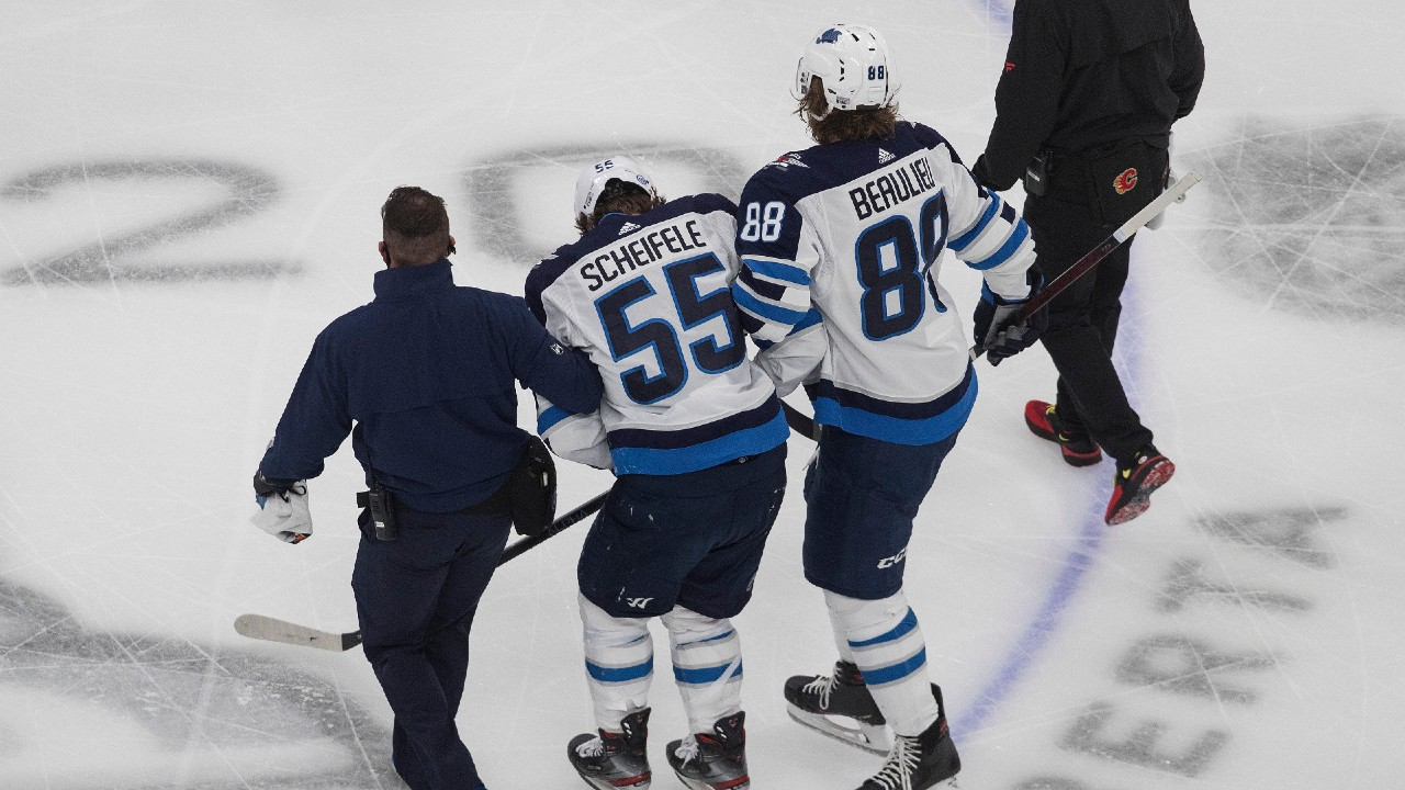 Jets lose Game 1 and two major pieces against Flames