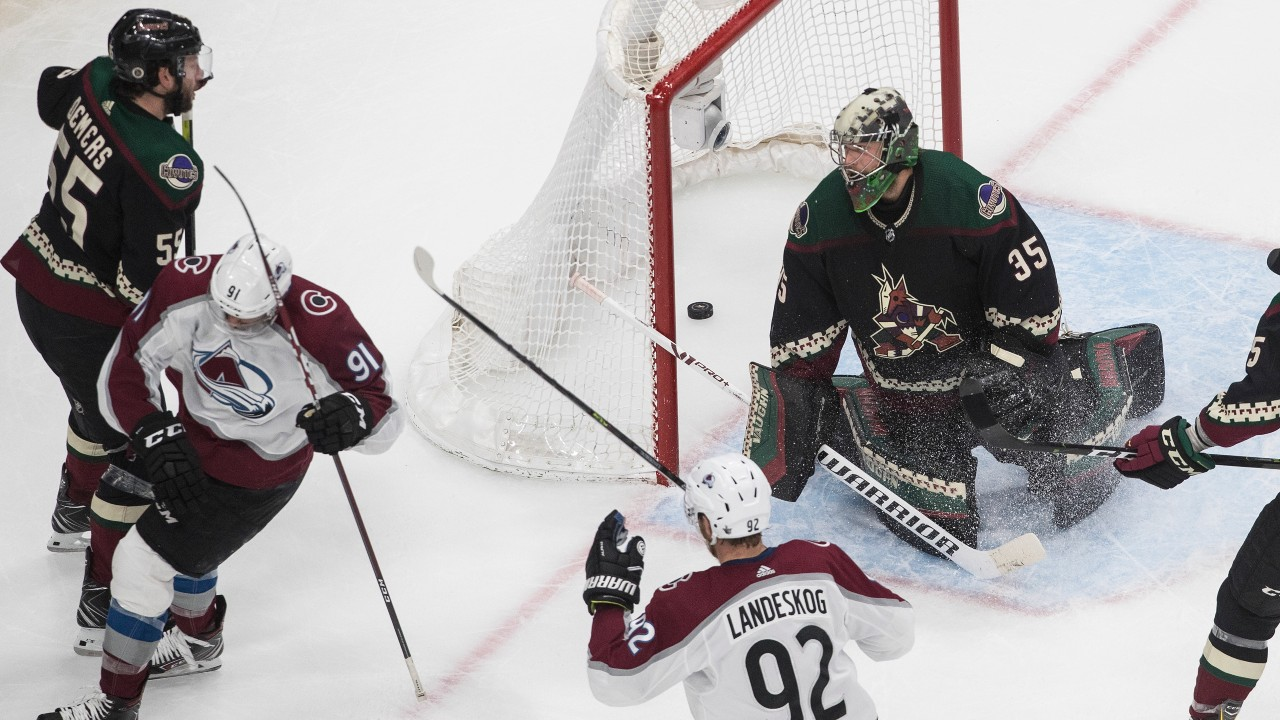 Coyotes' are on their last legs as Colorado takes a stranglehold