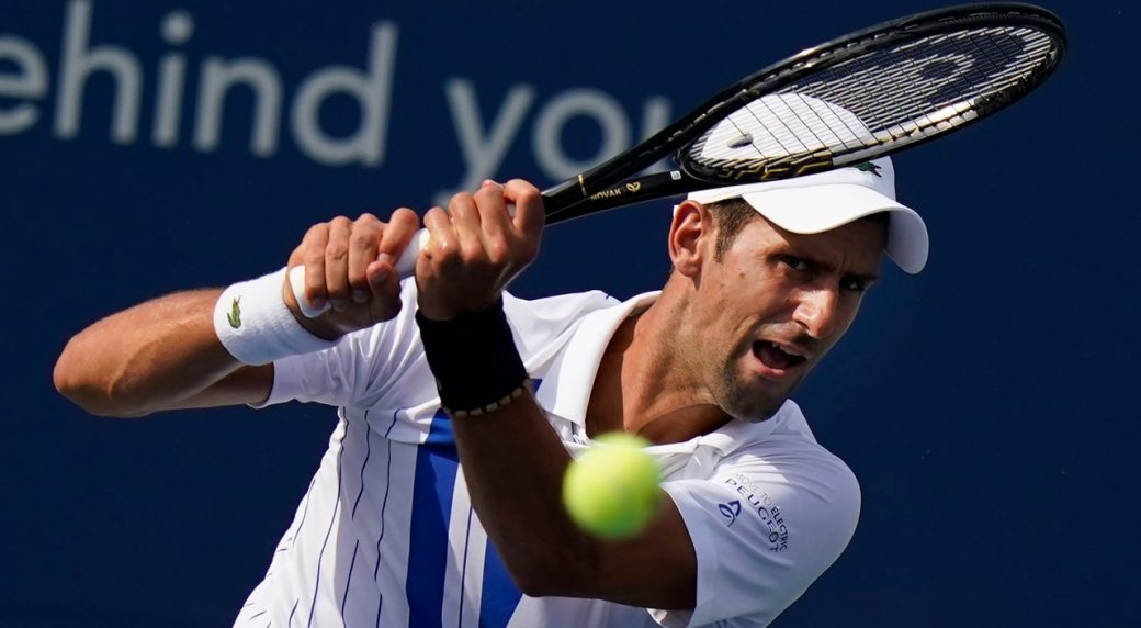 Novak Djokovic sets up Western and Southern Open final against Milos Raonic