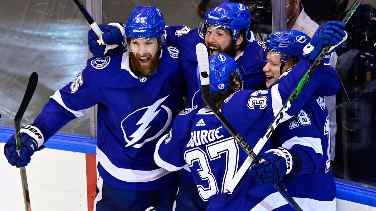 Lightning reminded of what it's like playing the Bruins in the playoffs....