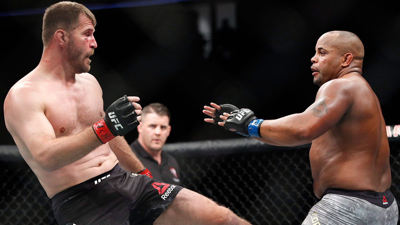 Miocic vs. Cormier could go down as greatest UFC trilogy