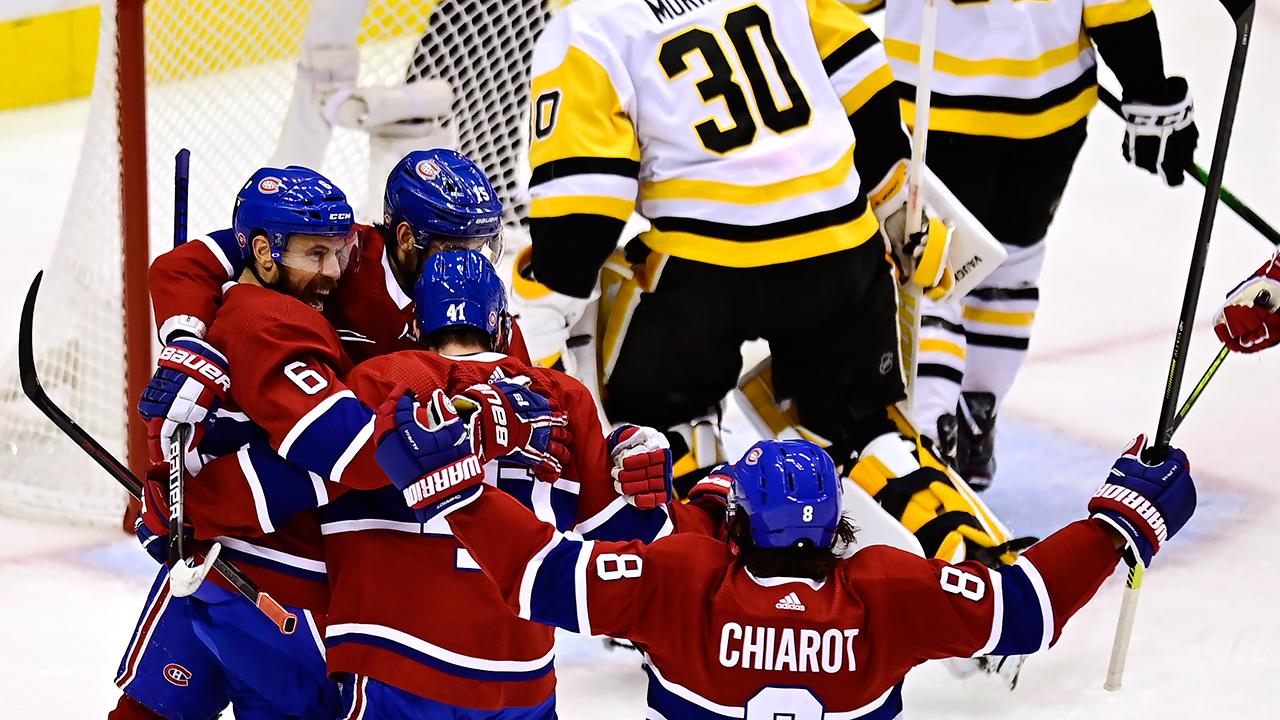 Canadiens-celebrate-shea-weber-goal-penguins