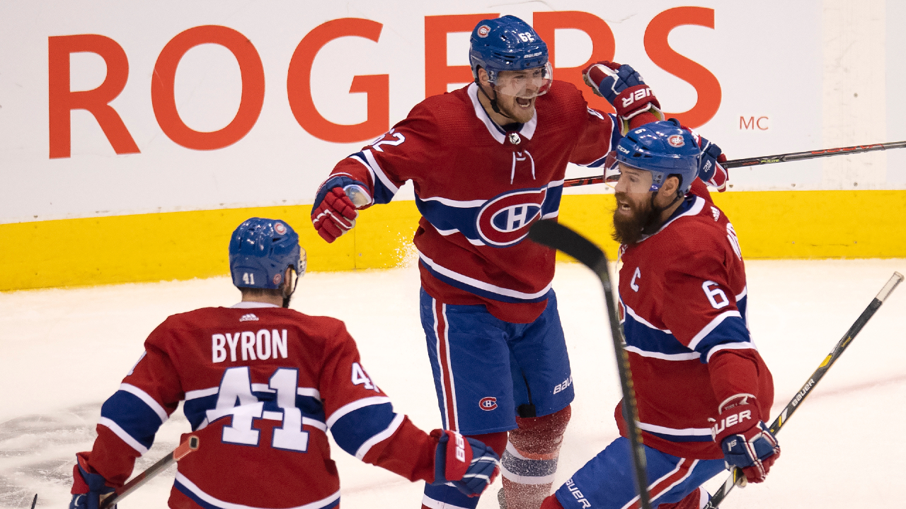 Young Canadiens' upset the Pens in monumental series victory