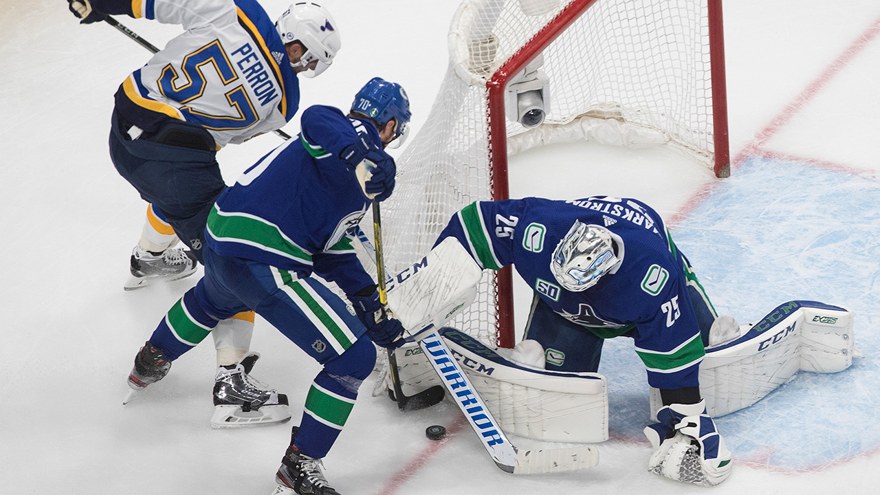 Canucks Confidence Isn T Wavering Ahead Of Critical Game 5 Vs Blues Sportsnet Ca