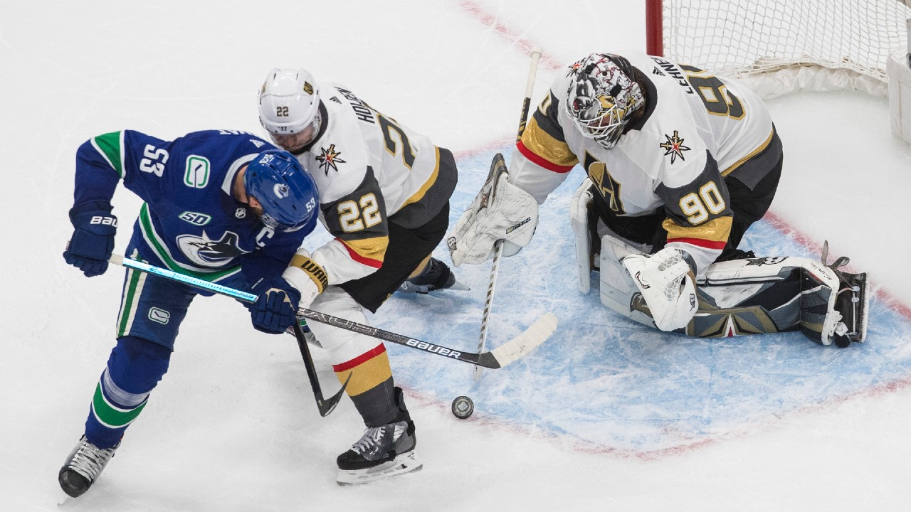 Lehner continues shutout strategy against the Canucks as Vegas takes a 2-1 series lead