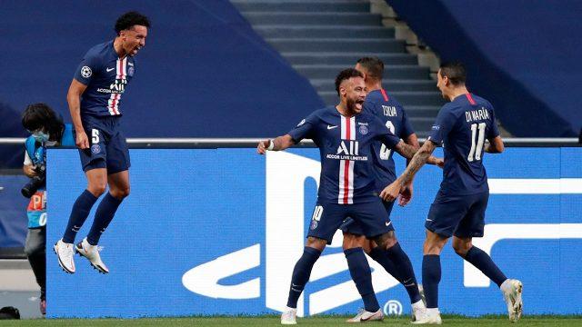 neymar-psg-celebrate-champions-league