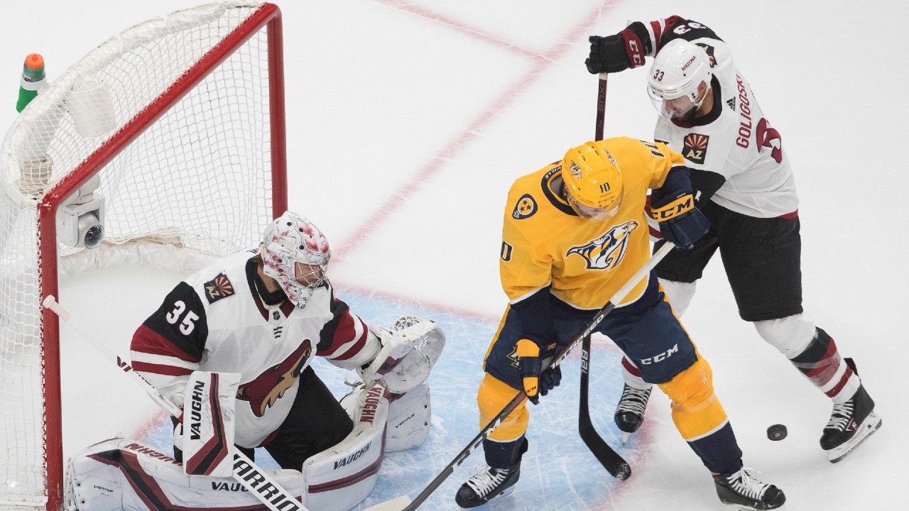 Preds tie up the series with a win over the 'Yotes