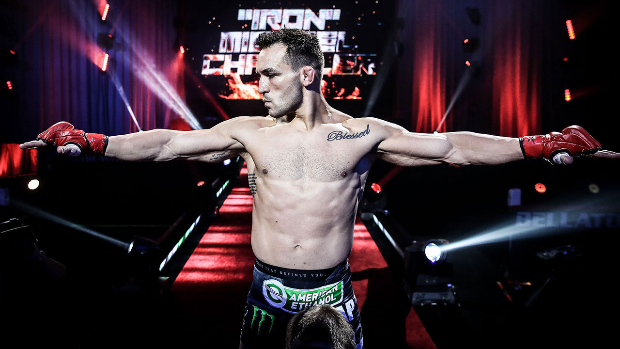 Michael-Chandler-was-a-three-time-Bellator-MMA-lightweight-champion