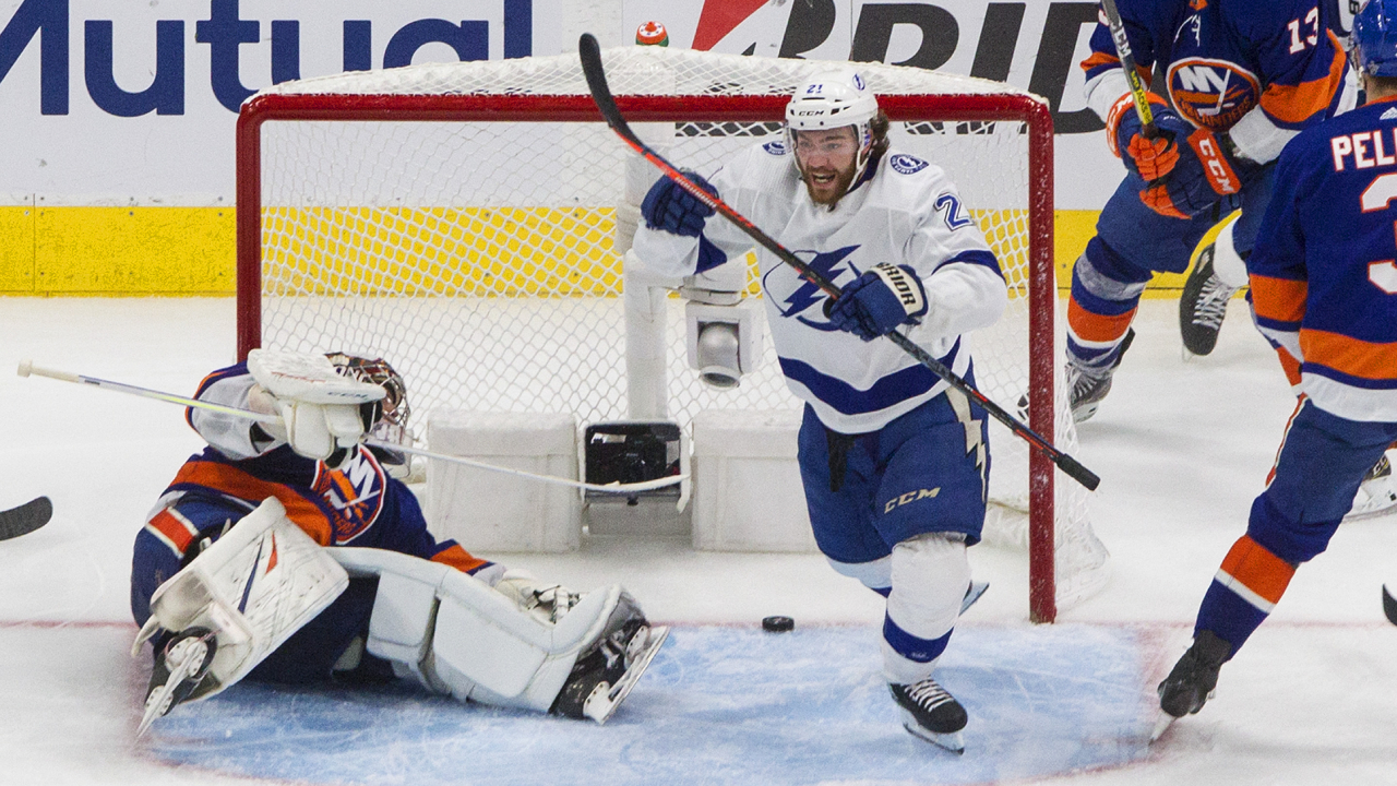 The Lightning are one game away from the Stanley Cup Final after a 4-1 win over Isles