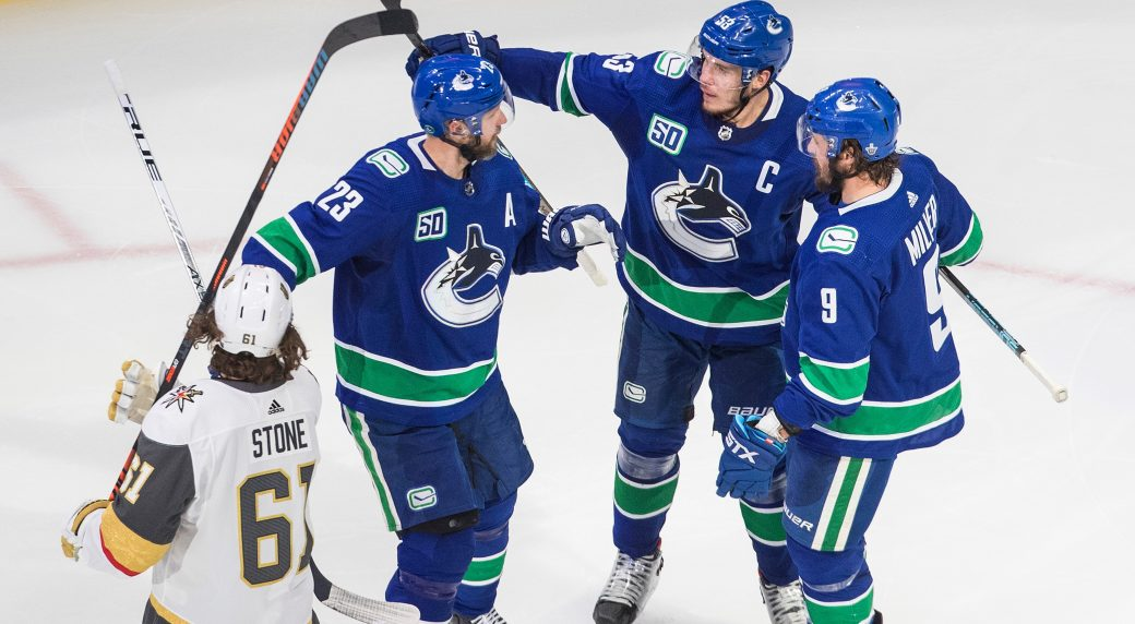 Canucks vs. Golden Knights - Game Preview