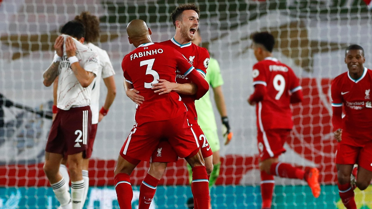 diogo jota scores in debut as liverpool beats arsenal sportsnet ca diogo jota scores in debut as liverpool