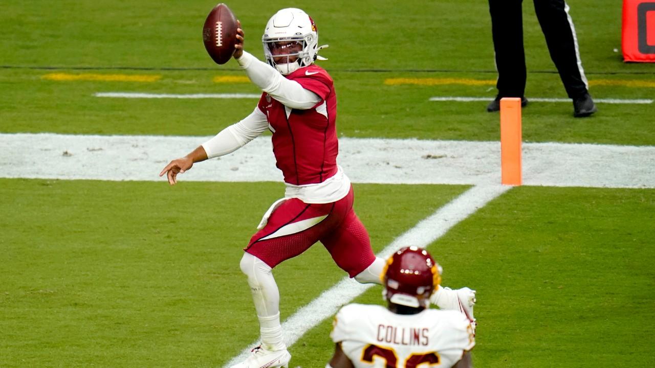 Kyler Murray runs for two touchdowns as Cardinals roll past Washington -  Sportsnet.ca