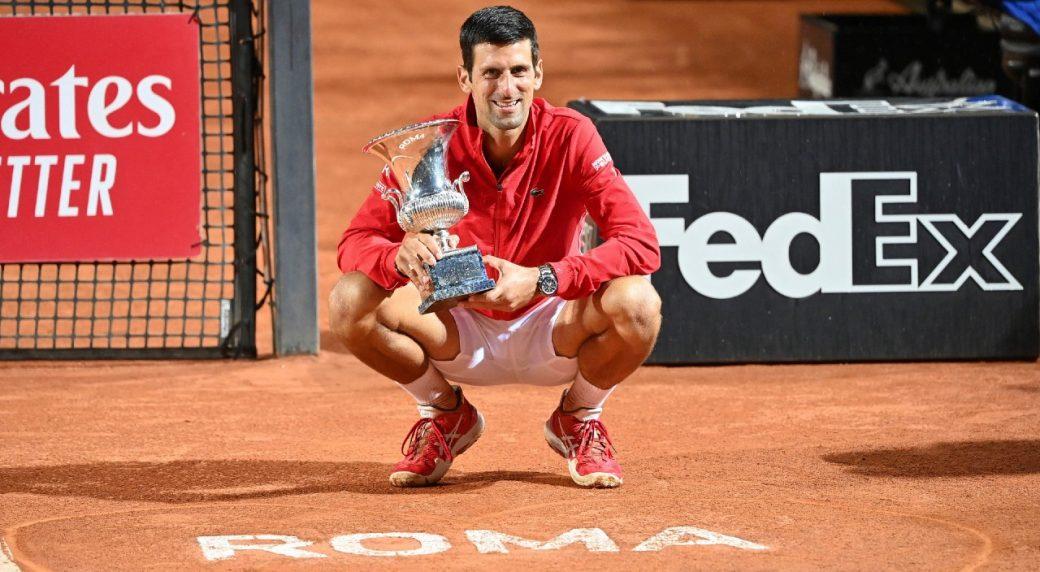 Djokovic Wins Italian Open Two Weeks After Us Open Default Sportsnet Ca